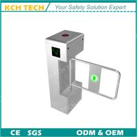 Quality Facial Recogintion Access Control Swing Barrier Turnstile Gate Protection for sale