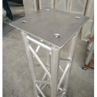 Buy 350*350*8mm Aluminum Spigot Plate Table for Beam  Lights on 1 Meter Truss at wholesale prices