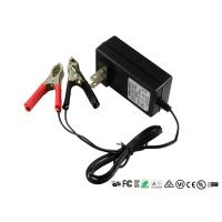 Quality Intelligent 12V Sealed Lead Acid Battery Charger With Alligator Clips for sale