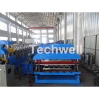 Quality 18 Forming Stations Roof Panel Roll Forming Machine , Double Sheet Roll Forming Machine for sale