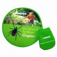 Quality Foldable Flying Disc, Made of Nylon for sale
