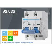 Buy cheap Weight light 100amp 2 phase small circuit breaker with contact visual window from wholesalers