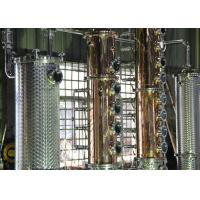 Quality 500gal Distillery brandy gin vodka alcohol copper still equipment for sale for sale
