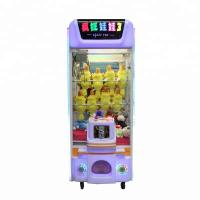 Quality Street Vending Claw Toy Grabber Machine , Small Plush Arcade Claw Machine for sale