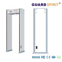 China Counter Record Army Walkthrough Metal Detector Gate With Battery Backup on sale