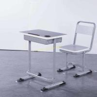 Quality Durable Ergonomic Classroom Desk And Chair Set With Fixed Height 760mm for sale