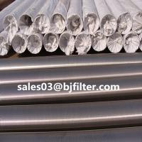 Quality factory hot sale stainless steel continuous slot wedge wire screen cylinder for sale