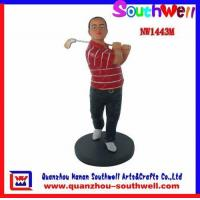 Quality Polyresin Golf Player Figurines for sale