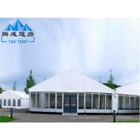 Buy cheap PVC Hard Pressed Extruded Aluminum Waterproof Canopy Tent High Resistance from wholesalers