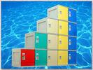 Quality ABS Material Plastic Gym Lockers 2000 × 933 × 470mm For Sports Ground for sale