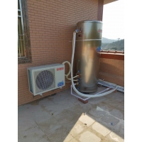 Quality Galvanized Sheet R410a 1.5HP 5KW Airsource Heat Pump for sale