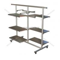 Quality garment promotional display rack,inner clothes display shelf, bookstore shelf display for sale