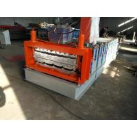 China Simple Type Double Layer Roof Panel Roll Forming Machine / Roof Tile Roll Forming Machine on sale