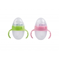 Quality Anti - Colic Silicone Baby Milk Bottle Custom Capacity For Children for sale