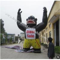 Buy cheap Giant inflatable gorilla advertising sales from wholesalers