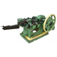Quality Customized Low Carbon Steel Wire Nail Machine With Horizontal Layout , ISO-9001 Approved for sale