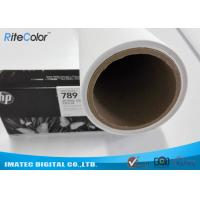 Quality Latex Media Pure Polyester Canvas Roll For Large Format Printers for sale