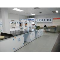 Quality PP Lab Island Table / Floor Mounted PP Laboratory Table / Ploypropylene Lab Workbenches for sale