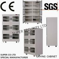 Quality CE SGS Customized Dehumidifier Electronic Dry Cabinet , RH Range 1 - 10% For audiovisual, precise instruments, food for sale