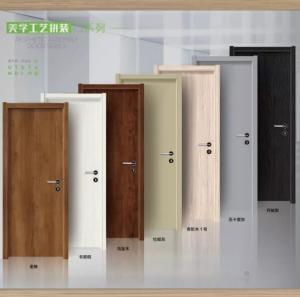Quality zhongshan supplier composite paint door,original wooden door,rubber wooden door ,ecological wooden door, for sale