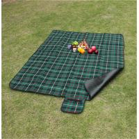 Quality Customize Pattern of 100% polyester waterproof picnic blanket for bulk sale for sale