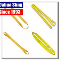 Quality multi Layer Endless Lifting Slings nylon rigging straps Low elongation for sale