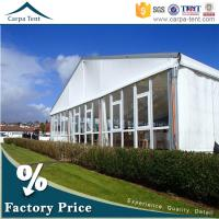 Buy Universal Glass Wall Tent Clear Span Tents for Events with Furniture/Floor at wholesale prices