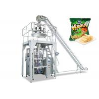 Quality Automatic Food Packing Machine , Vertical Apple Chips Packing Machine for sale