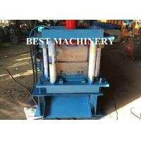Quality Hydraulic Punching Shutter Door Frame roll forming machine Gear Box or Chain Type for sale
