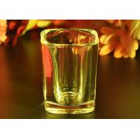 Buy FDA Passed Tall Shot Glass Liquor Cup , Glass Whiskey Tumblers at wholesale prices