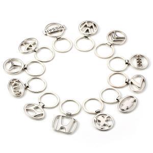 Quality Car Logo Keychain Alloy 3D Key Chain Metal Pendant Holder Key Ring for sale