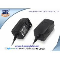 Quality Interchangeable 12V 1A  Universal AC DC Adapters With EU US UK AU Plug for sale