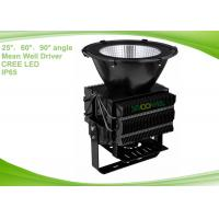 Quality Black IP 65 400 Watt Industrial Outdoor Lighting Replacement Of 1000w Sodium Lamps for sale