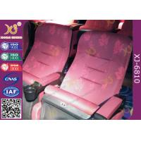 Buy Mesh Fabric Upholstered Foldable Assembly Hall Chairs With Leatherette Headrest at wholesale prices