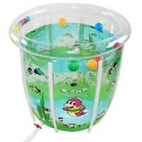 Quality Plastic Inflatable Swimming Pools With Crystal Double Bubbles For Kids for sale
