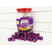 Quality 2.75g Compressed Healthy Hard Candy / Yogurt Cubes In Jars OEM available for sale