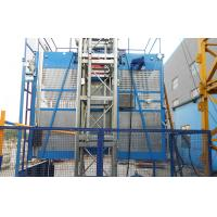 Quality Rack and Pinion Material Hoisting Equipment ENGINES POWER 2x15kw for sale