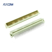 Quality Right Angle 3 Rows 16 32 48 64 96 Pin DIN 41612 Connector for sale