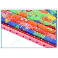 Quality Multi - Color Printing Embossed Spunbond Non Woven Fabric Anti - Bacterial for sale
