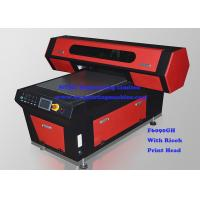 High Precision 3D Digital Flatbed UV Printer With UV LED Lamp