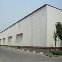 Quality Q235 345B Workshop Steel Buildings / Steel Structure Warehouse With Drawings for sale