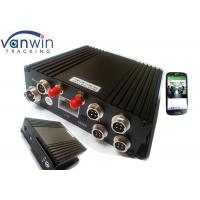Quality 3G GPS Vehicle Blackbox DVR 128G Dual SD Card MDVR 4 Channel for sale