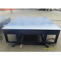 Quality Big Capacity Electric Loading Dock Leveler Free Maintenance With Single Button Operation for sale