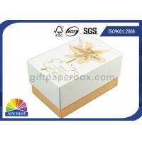 Quality Imprint Gold Stamping Cardboard Gift Box Packaging Stylish Design Custom Shapes for sale