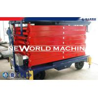 Quality 6-18 M Hydraulic Platform Lift Mobile Scissor Lift With Electric Motor for sale