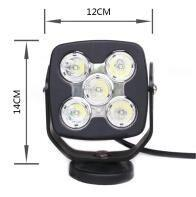 Quality 50w Motorcycles Cree Led Headlights, 12v Led Auto HeadlightsWith Side Light for sale