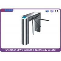 Quality 550mm Drop Arm Waist-height Turnstile Gate for Gym for sale