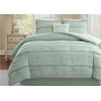 Quality Soft Ruffle Lightweight Down Alternative Comforter Set Multiple Colors Optional for sale