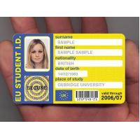 Quality PVC blank ID photo card with super quality&copetitive price for sale