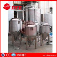 Quality Durable Beer Brewing Equipment Conical Fermenter 50mm 80mm 100mm Thickness for sale